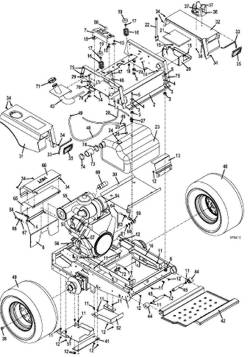 walker riding mower wiring diagram free picture