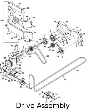 Model 428D 2008 Grasshopper Mower Parts DiagramsThe Mower