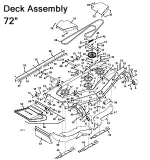 Model 430D 2010 Grasshopper Mower Parts Diagrams- The