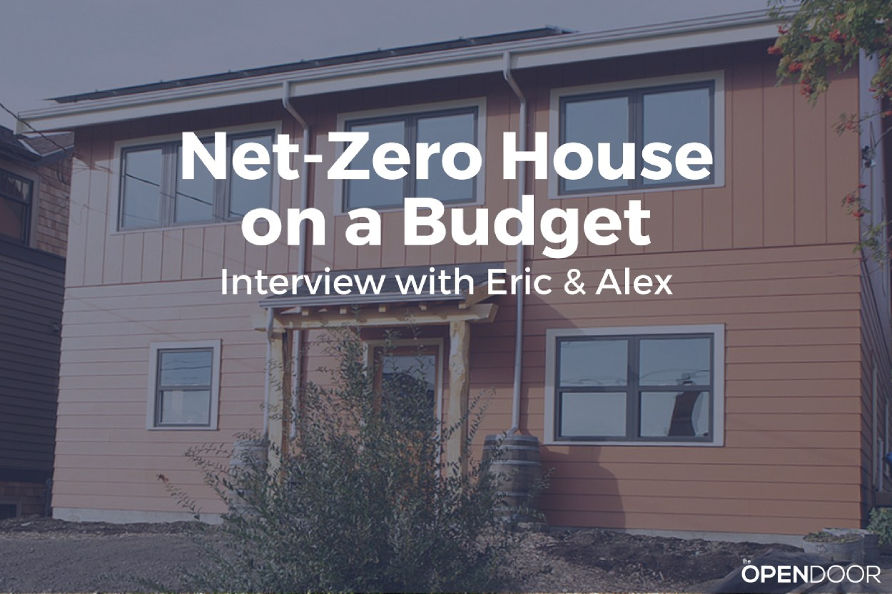 Net-Zero House on a Budget