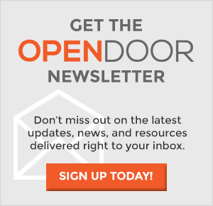 the OPEN DOOR Newsletter