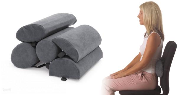 Lumbar Support Roll  Back Support Pillow