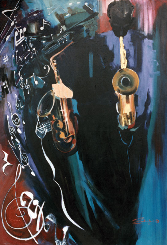 Jay Patton Black Sax