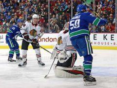 The Rink Hawks-VS-Canucks-2-2018-e1517549466991 Chicago Blackhawks vs Vancouver Canucks Preview & Game Thread Vancouver Canucks Chicago Blackhawks Canucks Blackhawks