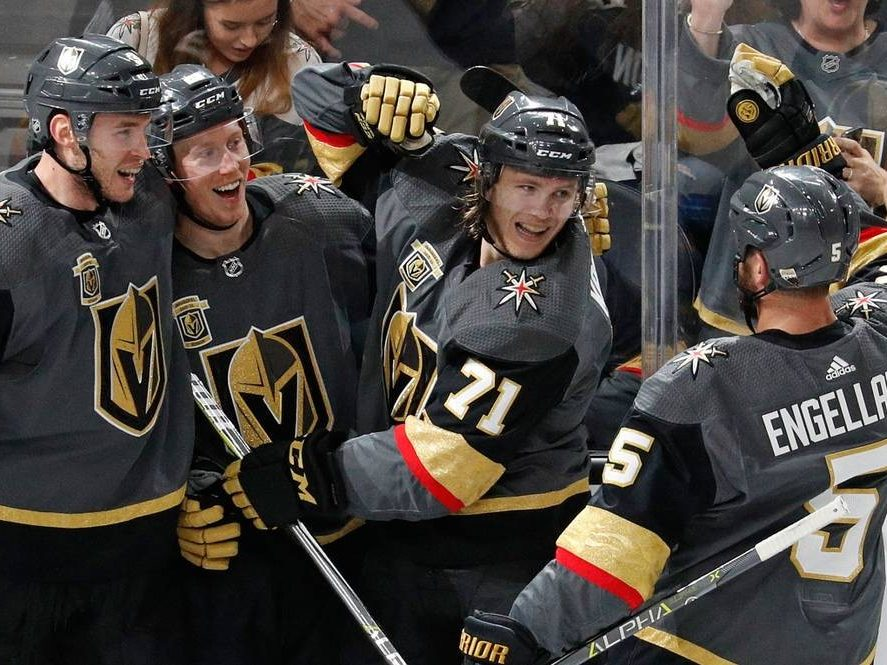 The Rink vegascelly-e1525457313858 High Level Team Play on Display in NHL Stanley Cup Playoffs NHL Playoffs Bob Rose Jr Analysis