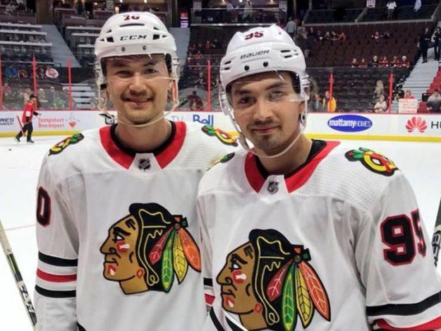 The Rink SikuraBrothers-e1537625120931 Preseason Recap: Blackhawks Beat Senators 5-2 Ottawa Senators Chicago Blackhawks