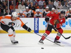 The Rink Keith-Flyers-e1541864020687 Preview/Game Thread: Blackhawks vs. Flyers Philadelphia Flyers Patrick Kane Nick Schmaltz Jeremy Colliton Claude Giroux Chicago Blackhawks