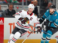 Blackhawks Sharks