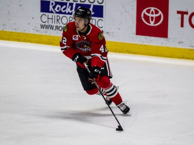 Rockford IceHogs Brandon Hagel