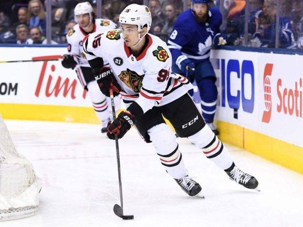 Chicago Blackhawks Dylan Sikura