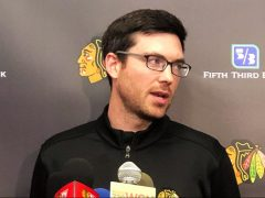 Jeremy Colliton Chicago Blackhawks