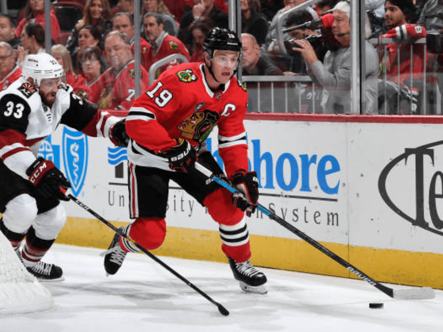 Blackhawks announce Jonathan Toews out indefinitely with medical issue