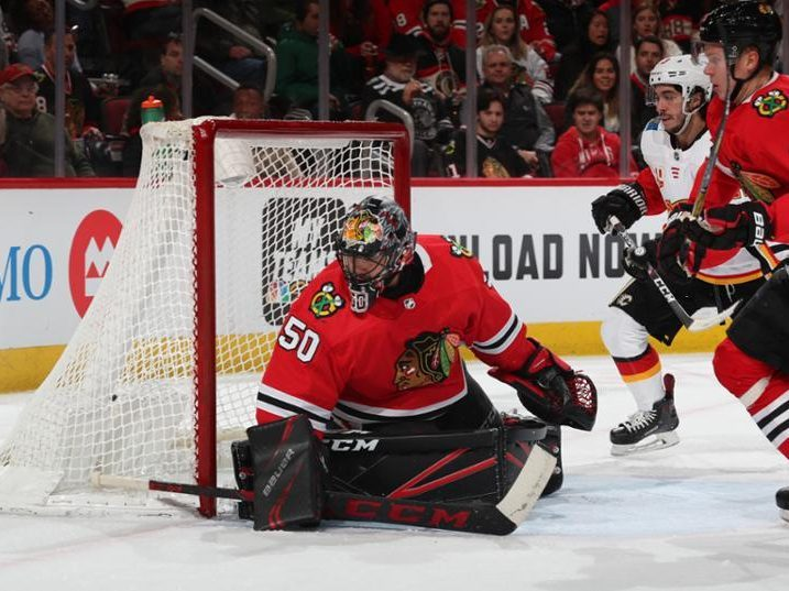 Along the Boards: Flames hold on to beat Blackhawks 2–1