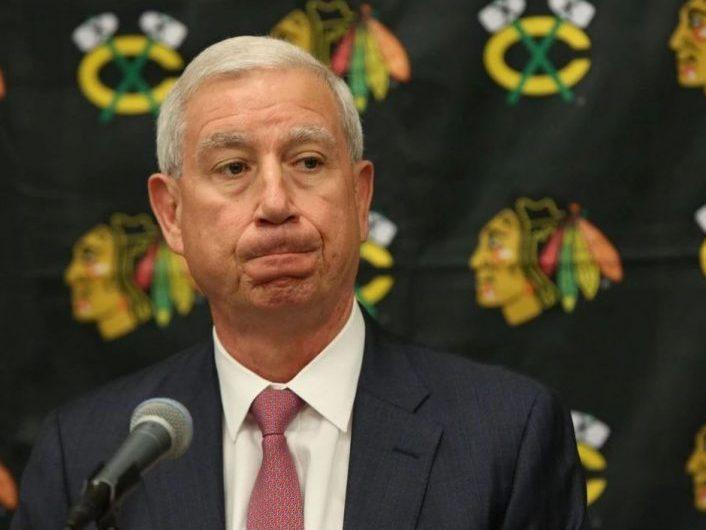BREAKING: Blackhawks fire John McDonough
