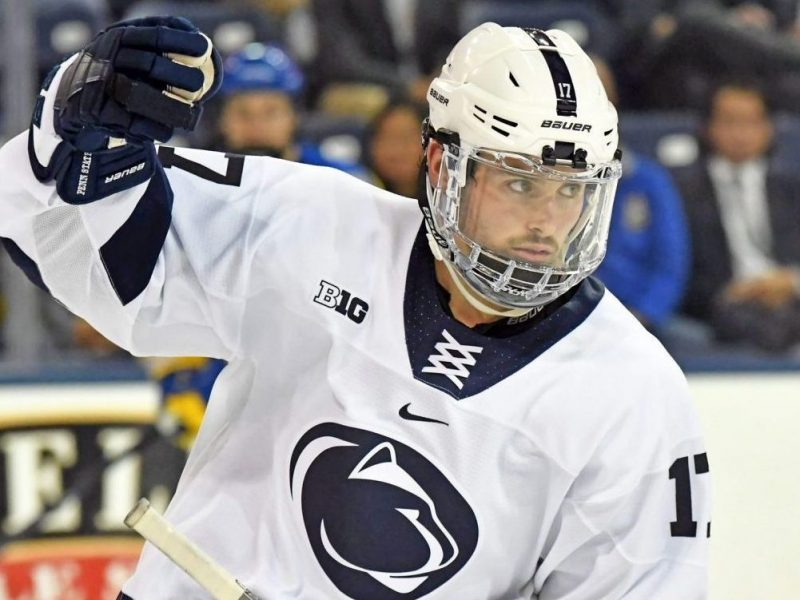 Prospect game report: Evan Barratt vs. Wisconsin