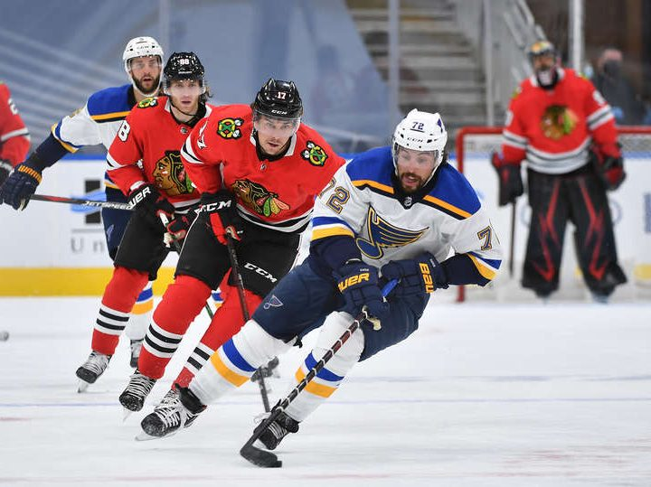 Along the Boards: Blackhawks shutout Blues 4–0 in exhibition warm up