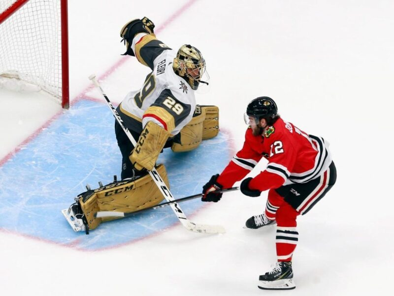 Blackhawks acquire Marc-Andre Fleury from Vegas