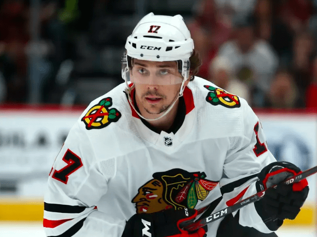Blackhawks re-sign center Dylan Strome to two-year extension