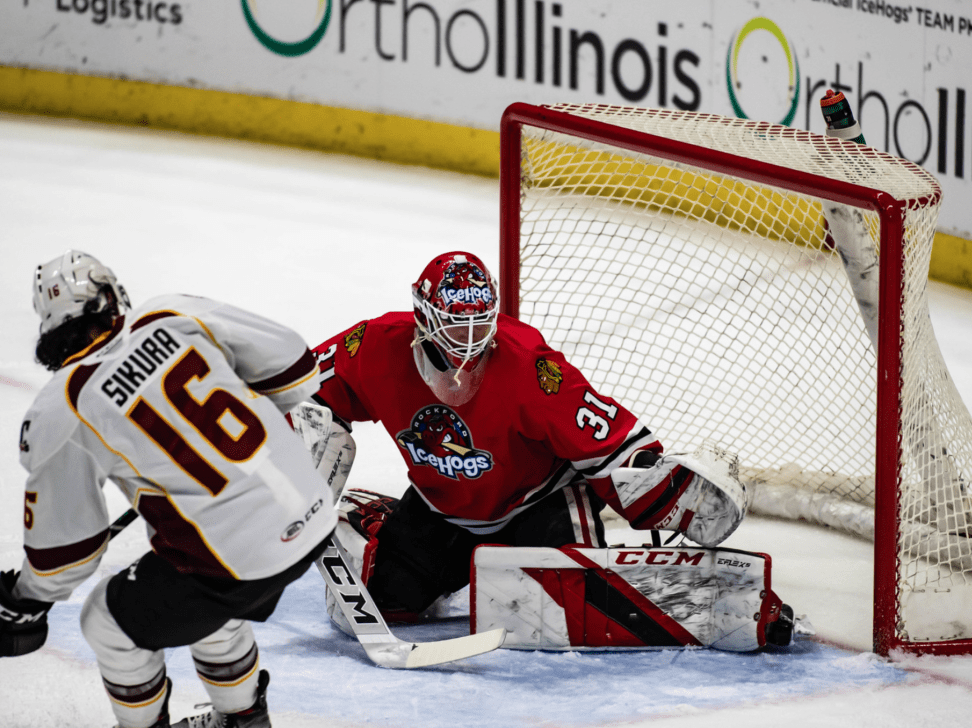 IceHogs earn first win as growing pains continue