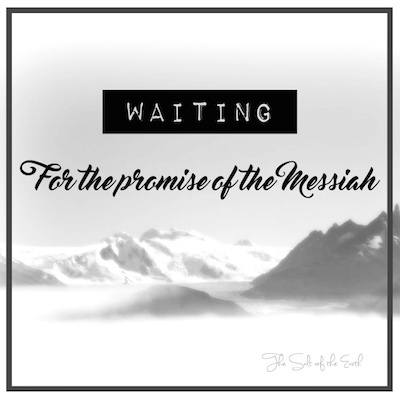 Waiting for the promise of the Messiah