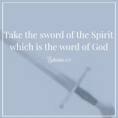take the sword of the spirit, armor bearer, the spiritual armor of God, armour of God