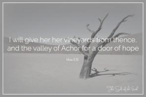 valley of Achor