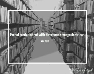 divers and strange doctrines