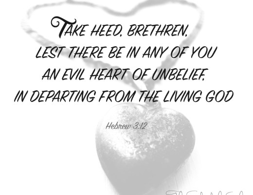 evil heart of unbelief