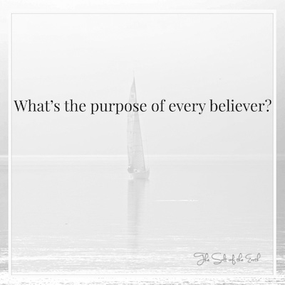 What is the purpose of every believer?