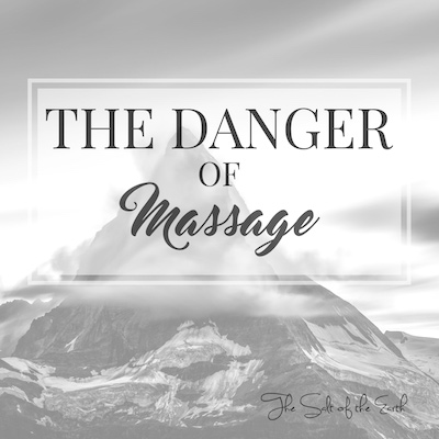 Danger of massage