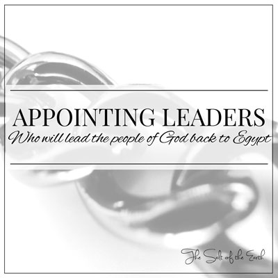 appointing leaders who will lead the people of God back to Egypt