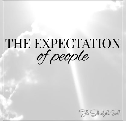 expectation of people