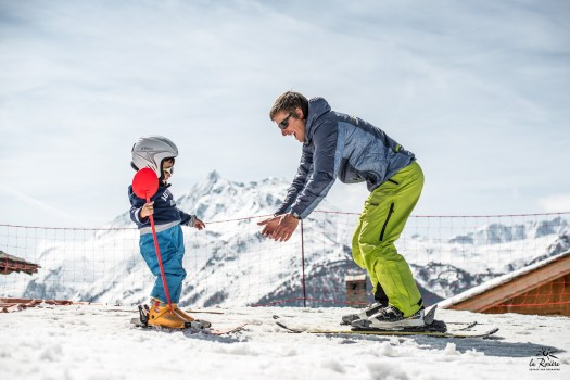 La Rosière is a great place for families skiing together and caters all types of skiers and boarders.