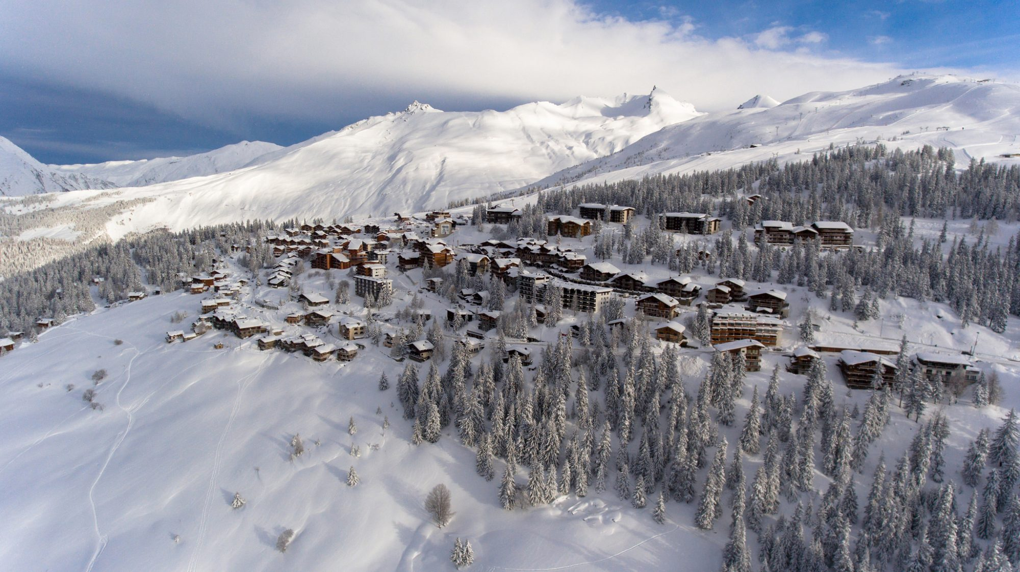 Village view of La Rosiere
