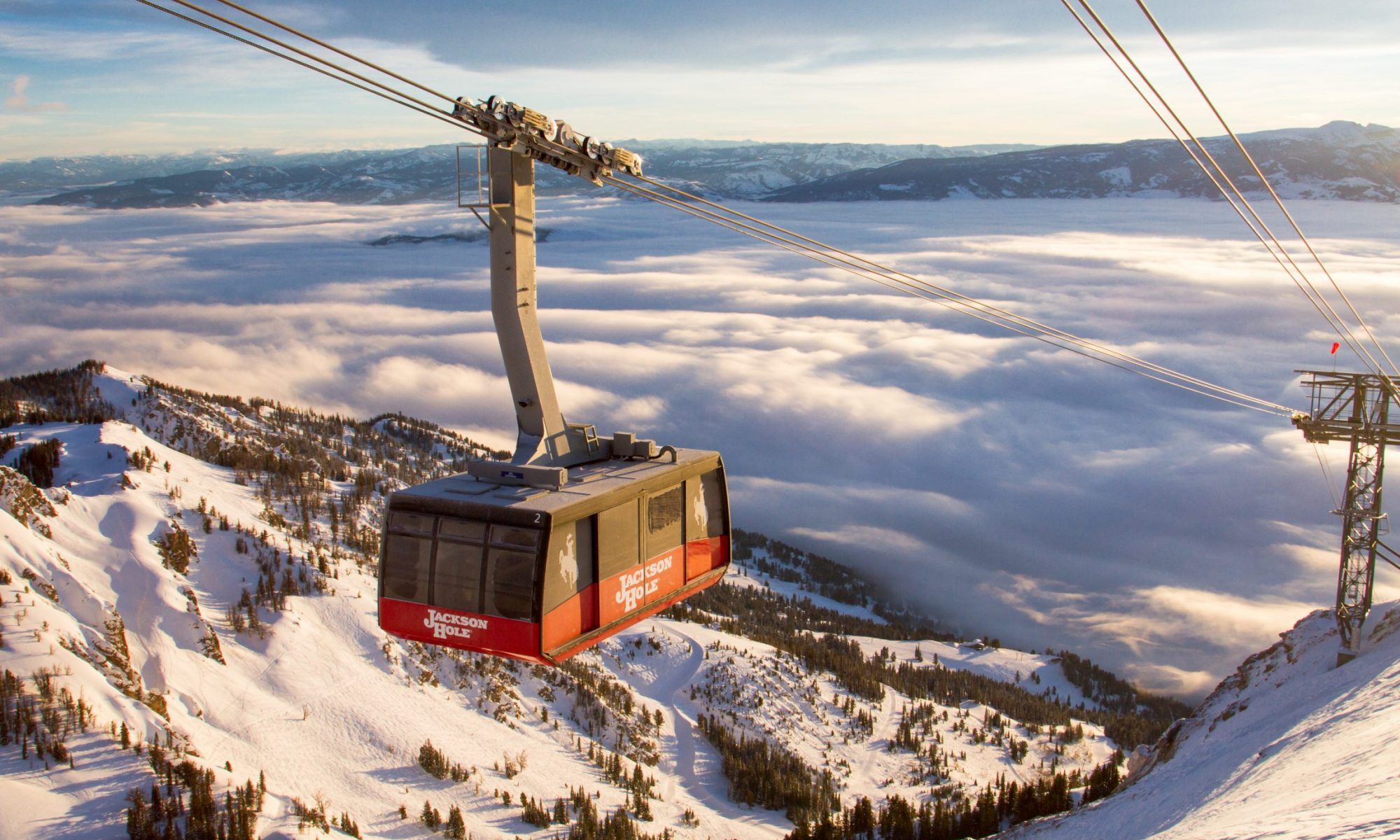 The famous Jackson Hole Tram - Photo: Alterra Mountain Company