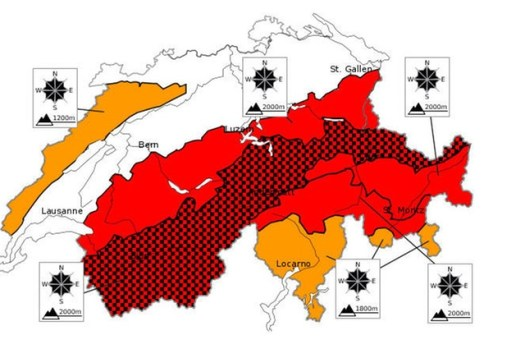 Switzerland Avalanche risk - SRF - SWI