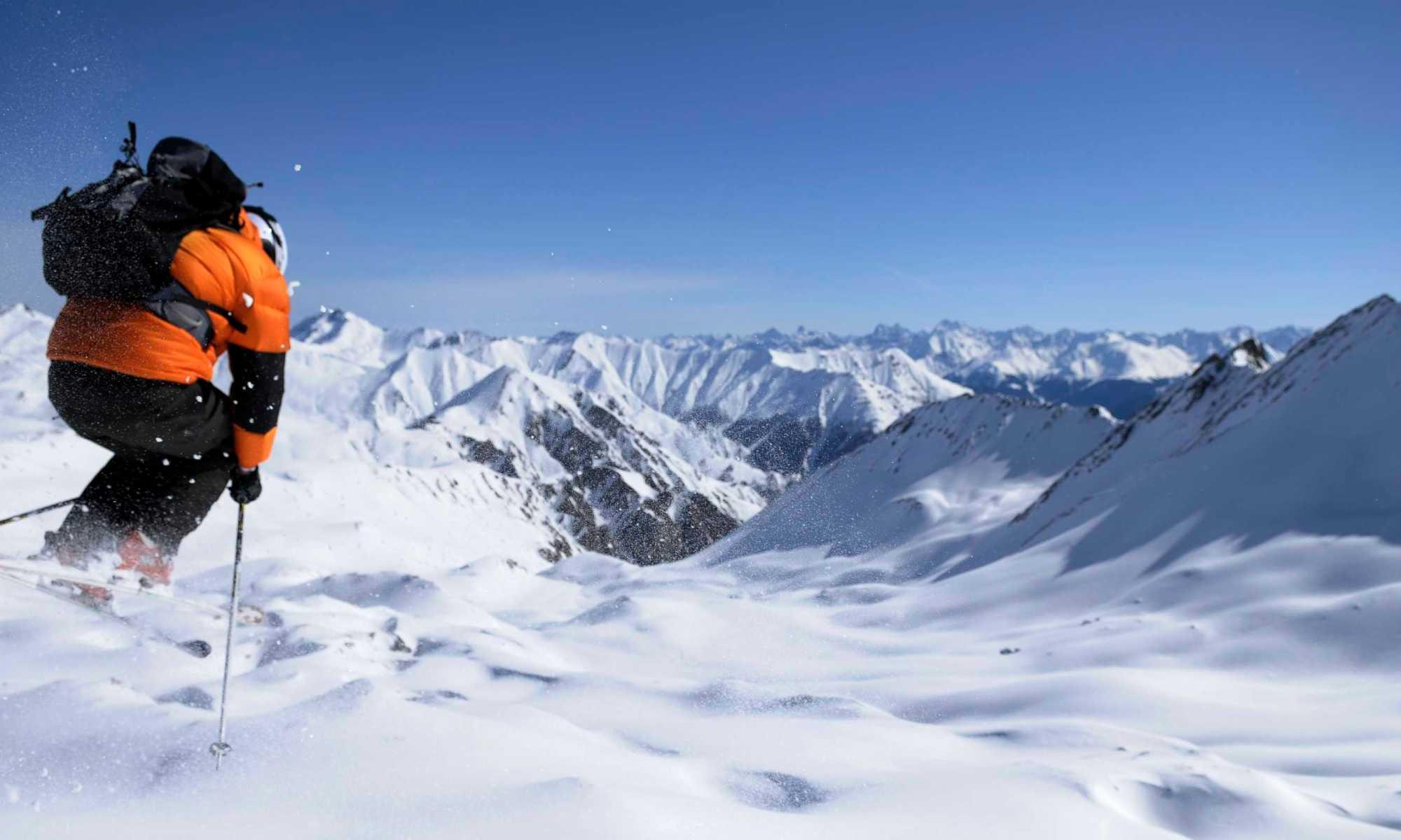 Alpe de Huez has great off-piste- Photo by Bureau Des Guides Alpe d'Huez