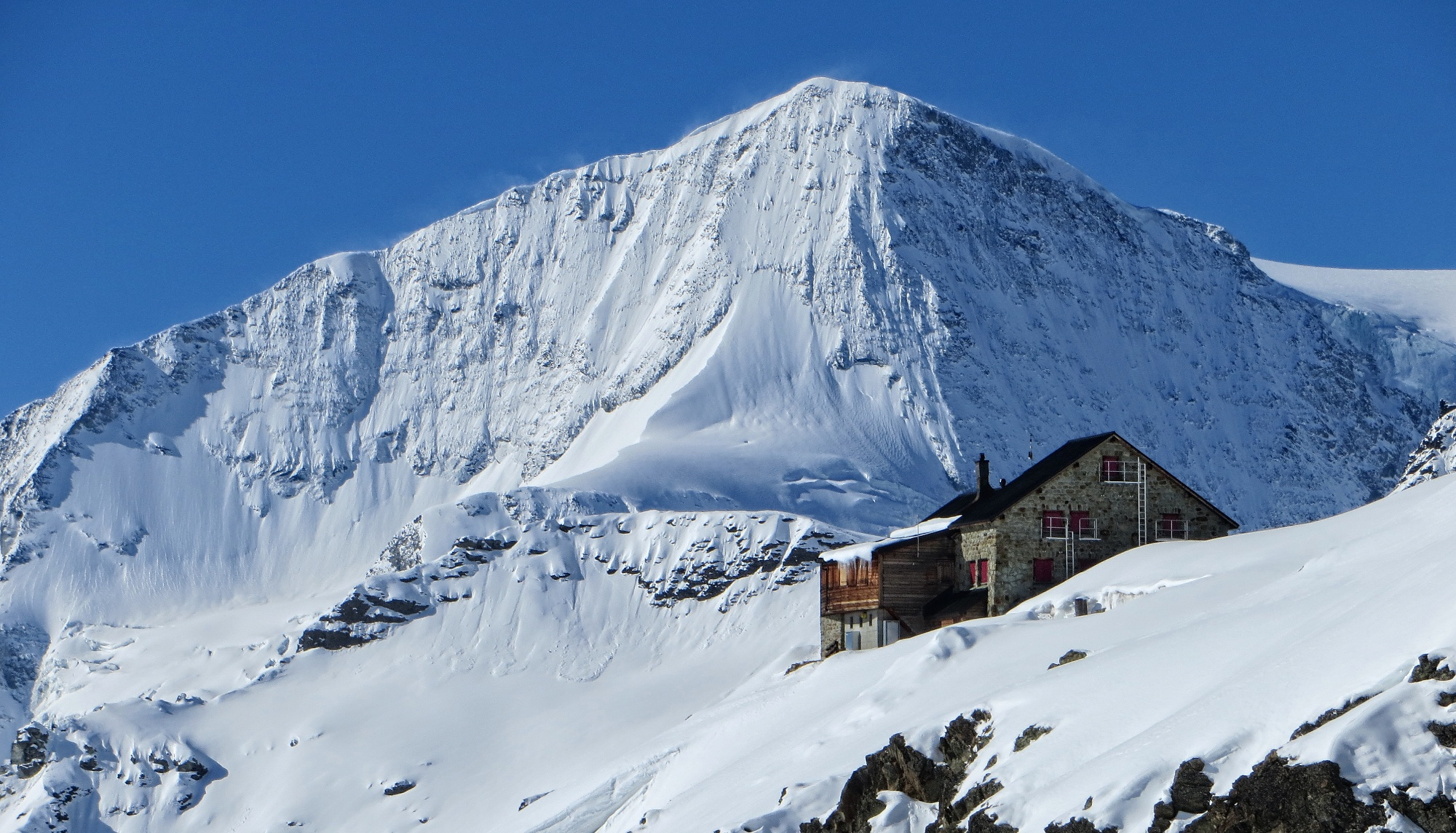 An Avalanche claimed a death in Arolla- Photo: Arolla in Switzerland.