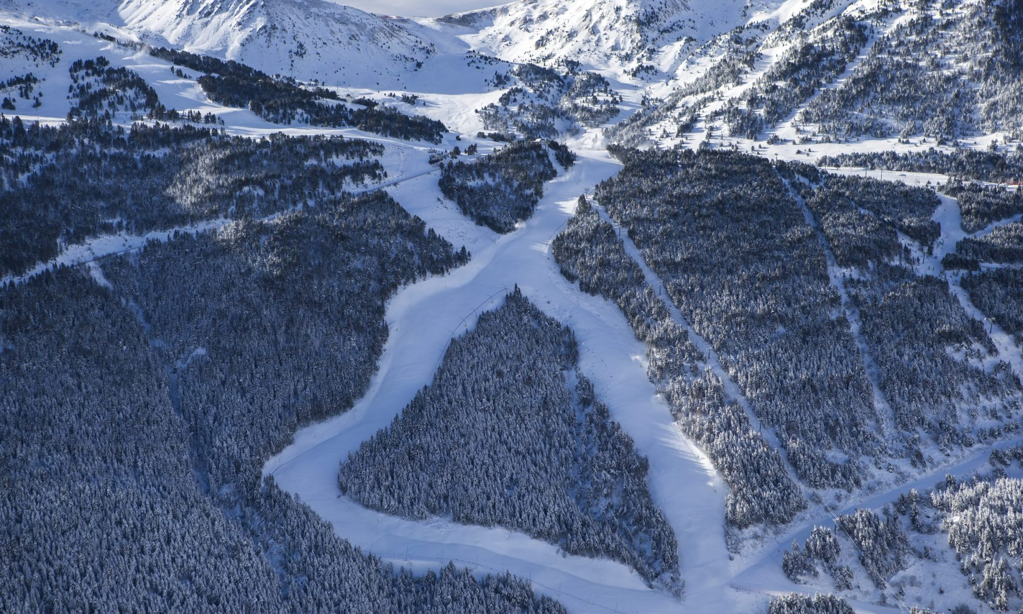 Grandvalira is the largest resort under one lift ticket in Andorra. Photo courtesy Grandvalira.