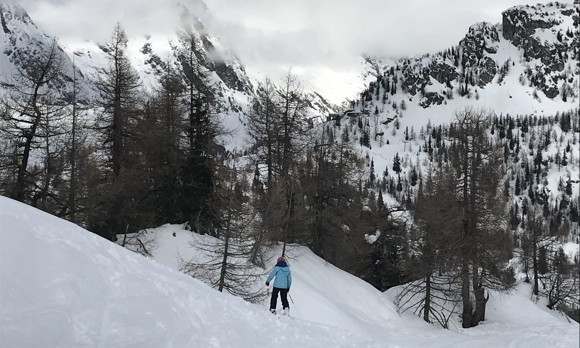 Courmayeur - Skiing to lunch at Maison Vielle. The Amazing Ski Area of Courmayeur