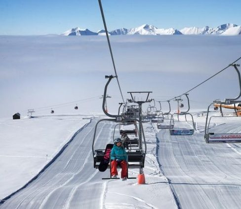 Gudauri lifts on top of the clouds. Doppelmayr will give training to lift personnel in safety
