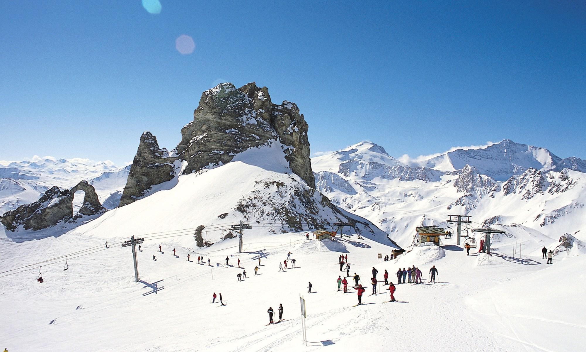 Tignes resort, where British Skier John Bromell was seen last time alive.