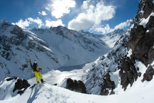 Ski Portillo. Photo by Adam Clark. Skiing as if you were in your own private ski resort.