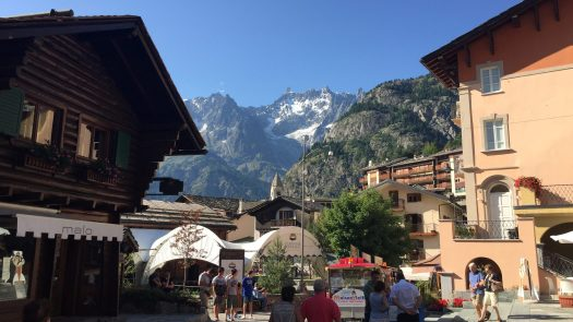 Courmayeur in summer