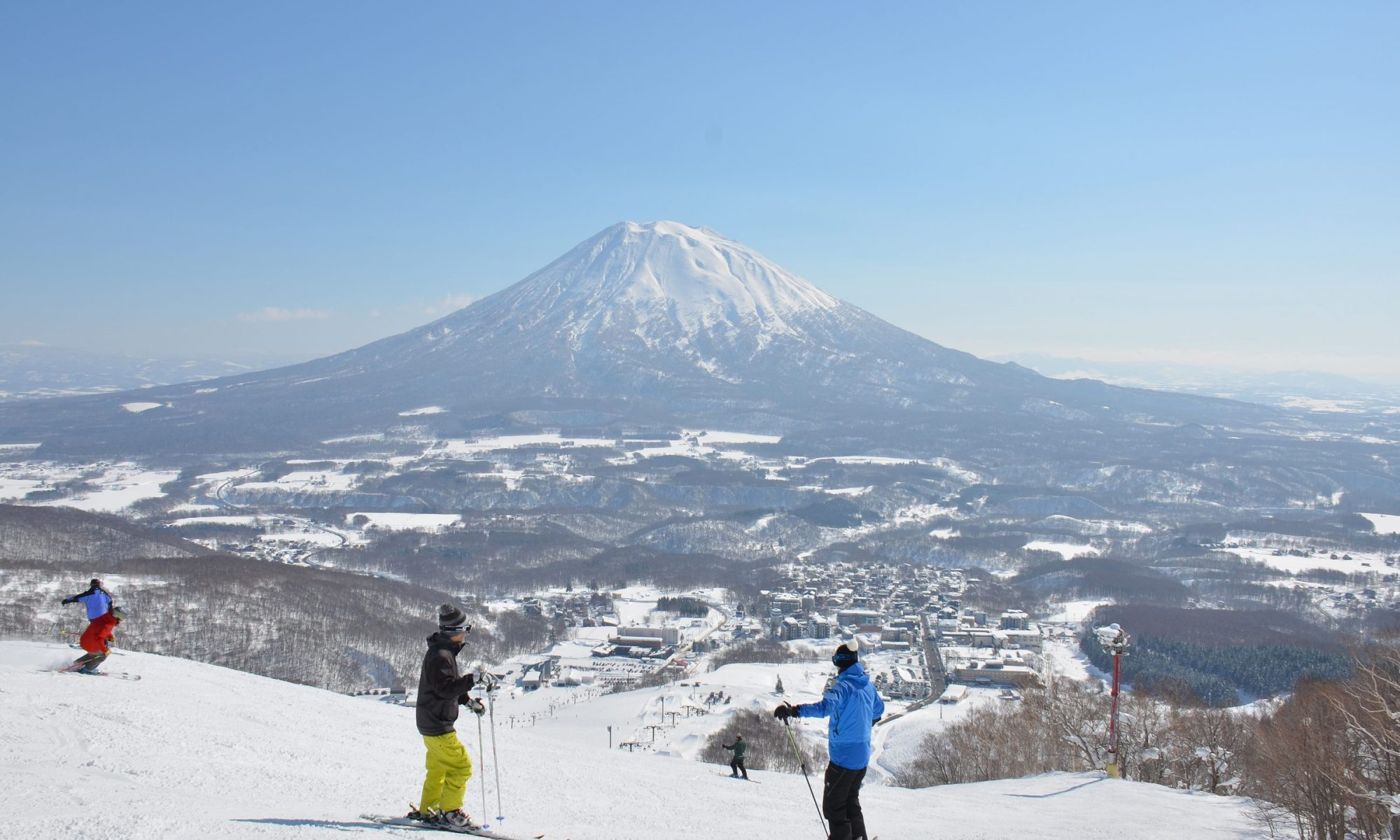 Niseko Grand Hirafu, part of Niseko United, now with the IKON Pass, making it the third continent under one ski pass.