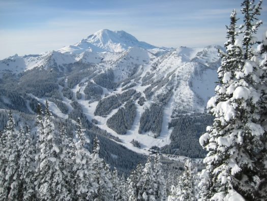 Crystal Mountain Resort, last acquisition of Alterra Mountain Company - to be enjoyed by IKON Pass holders.