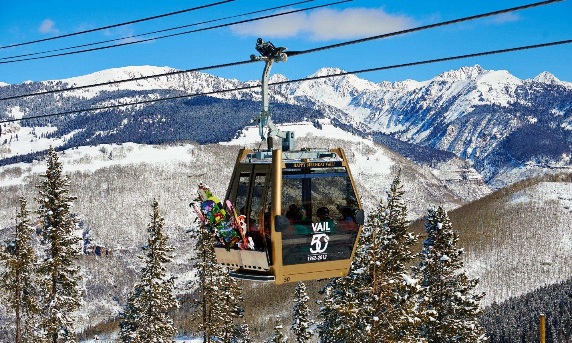 Gondola One - Gold Cabin - photo by Jack Affleck - Vail Mountain. Emma, the World's First Digital Mountain Assistant, Kicks Off the 2018-19 Winter Season in Beta at Keystone Ski Resort