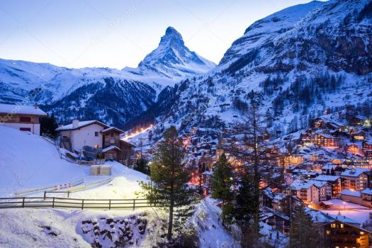 The beautiful town of Zermatt between mountains is postcard perfect, now home to the new Leitner Ropeways Matterhorn Glacier Ride.