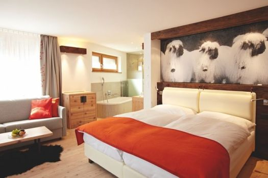 Double room at the Europe Hotel & Spa.