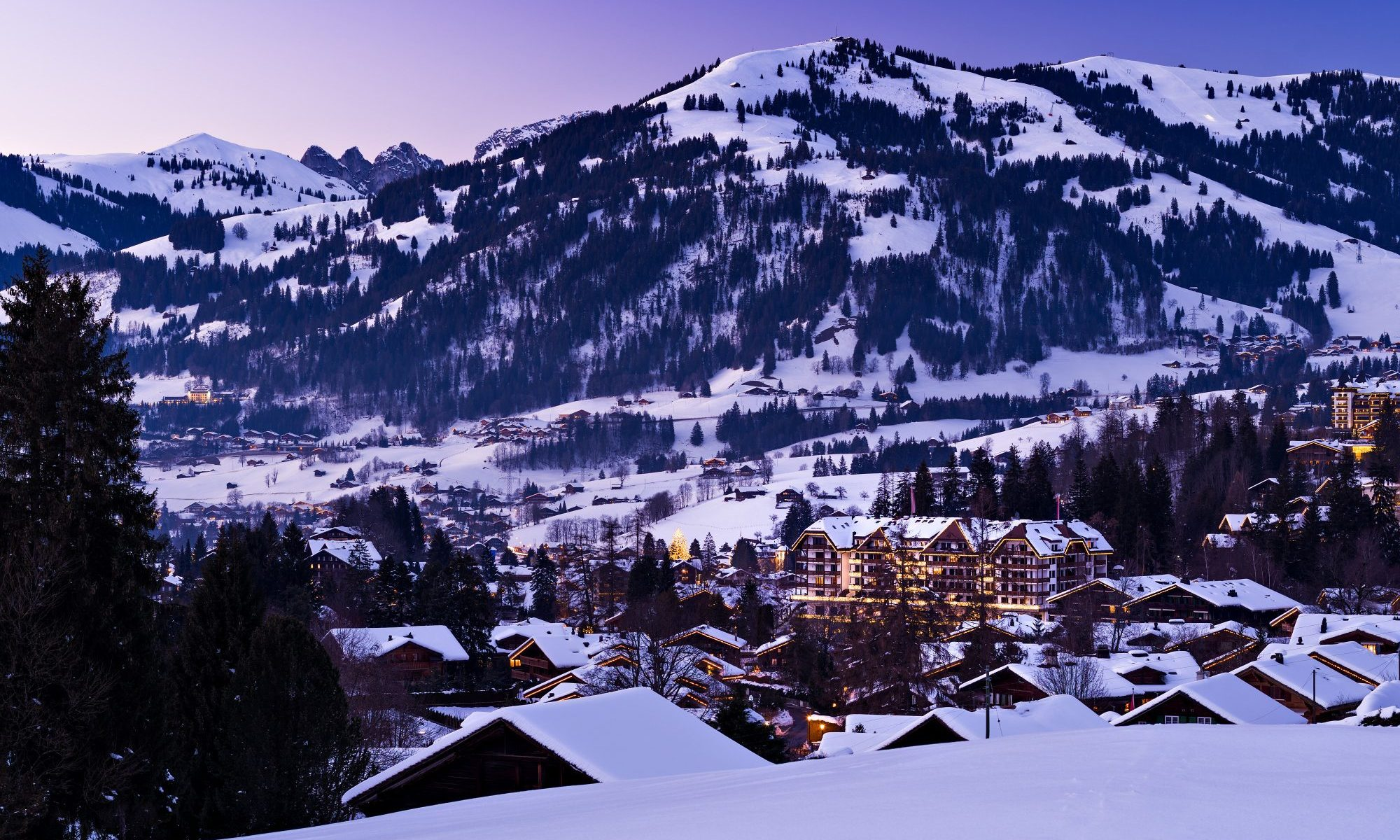 Gstaad in winter. What is new in Gstaad for the 2018-19 ski season. Photo: Tourism Office Gstaad.